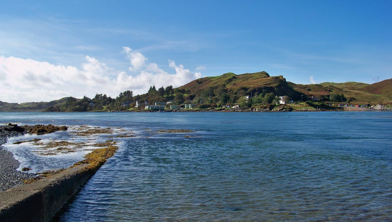 Isle of Seil. The departure of Luing